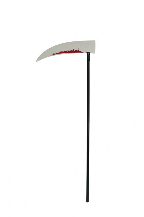 Bloody Scythe Bleeding Wound Vampire Novelty Plastic Toy